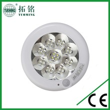 emergency ceiling lamp with plastic battery ceiling lamps pir sensor ceiling lamp for channel