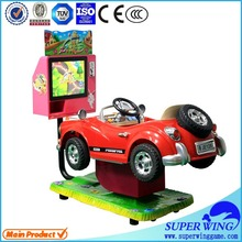 Hottest design mini racing car indoor coin operated kiddie rides china