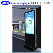 55inch android ipad stand shopping mall advertising touch screen kiosk