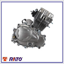 200cc Electric start manual clutch engine 4 stroke motorcycle engine