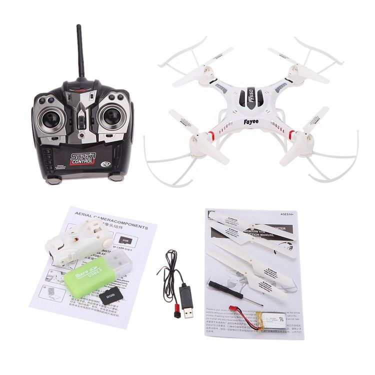 14205501-2.4G 6-Axis Gyro RC Quadcopter UFO Drone with 2.0MP HD Camera-2_04.JPG