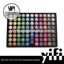 Professional!88 shimmer color eyeshadow palette new model developed. for oem service only.