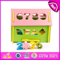 Hot new product for 2015 Kids toy wooden block toy,Wholesale wooden toy knock toy,Children toy block puzzle toy W11H007-A1