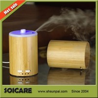 2013 New arrivaling bamboo ultrasonic air humidifier purifier aroma diffuser