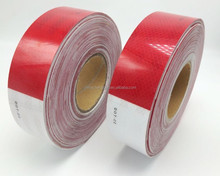 dot c2 red and white reflective prism tape for vehicle