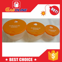 Promotional durable dried food container