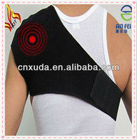 Thermal Tourmaline Magnetic Heated Neck Shoulder Support Wrap Pain Relief Wrap