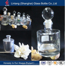 250ml aroma diffuser glass bottle with glass cap/stopper