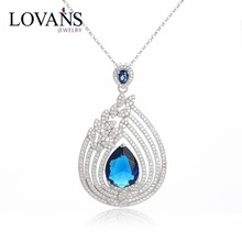 New Arrival 925 Silver Pendant Jewelry Zircon With Crystal Point Pendant SPG436W