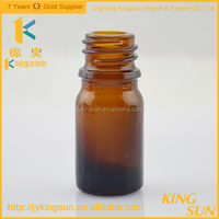 High quality pill use amber liquid medicine glass bottle for syrup