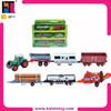 10174498 wholesale toy EN71 slide metal funny farm toy tractor car