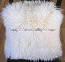 De piel de oveja almohada / la cara del doble almohada