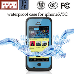 IP68 Waterproof Case for iPhone 5C, For iPhone 5C Waterproof Dirtproof Shockproof Case