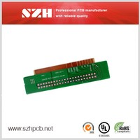 single-side copper gold high quality multilayer pcb for net work power system