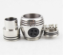 2015 new nuke rda with three turbine fans for more airflow and big vapor