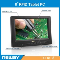 embedded 4-wires resistive touch 8 inch 3g tablet pc