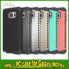 2015 Hot Sale Full Cover Case For IPhone 6 Factory Phone Case TPU+PC for Note 5