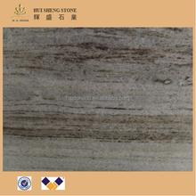 Grão de madeira marrom granito e pedra de mármore para o mármore contador