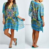 muslim product hot sale dubai kaftan dress beach kaftan
