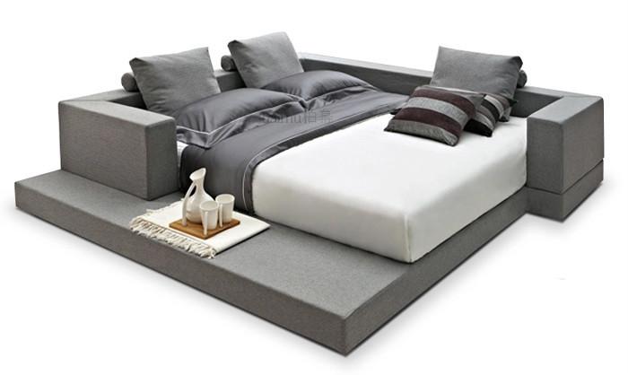 Dormitorios matrimonio diseo italiano amazing cool for Como hacer una base de cama king size