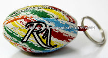 pelota de rugby llavero