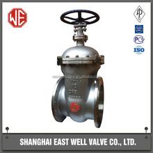 Butt welding gate valve DN250