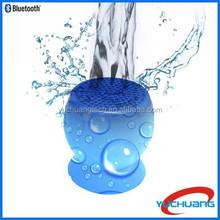 2015 Hot Selling Silicone Sucker Mushroom Mini Wireless Bluetooth mini waterproof speaker For mobile phone