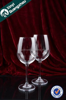 Guangzhou brand wholesale goblets for wine/cheap goblets/white wine brand names glass