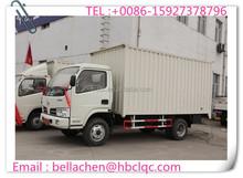 Cheap price 3000-5000kg DONGFENG diesel van truck for sale
