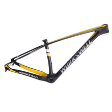 29er carbon mountain bike frame mtb 29 inch thru axle 142 12 ,QR 135 X 9 BSA BB30 PF30 BB92