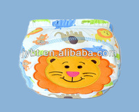 Free Shipping 1pc Baby Girl Boy Newborn Infants Kids Cute Animal Training Pants Washable Cloth Diapers Nappy Underwear Reusable