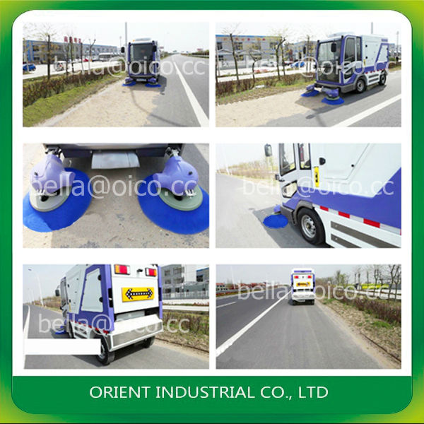 S2000 driveway vacuum sweeper warehouse sweeping machine