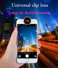 Mobile camera extra lens 3 in 1 Cell Phone Clip Camera Lens zoom lens for mobile phone