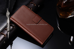 high quality pu leather mobile phone case for iphone 6s case