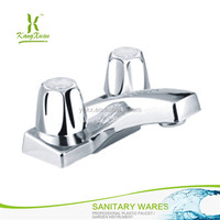 China Manufacture Plastic Chromed Modern Faucets Bathroom