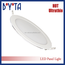 zhong shan factory directly quotation residential super thin led ceiling panel light round or square shaped full size option