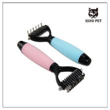 pet dog deshedding brush