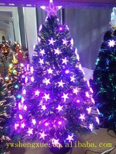 Fashion Outdoor Decorations Giant Fiber Optic Led Lights Christmas Tree