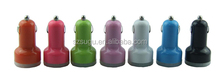 2015 hot colorful 5V 3.1A usb car charger for i phone, android phone,tablet pc