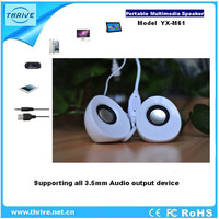 portable speaker support usb flash drive fm radio