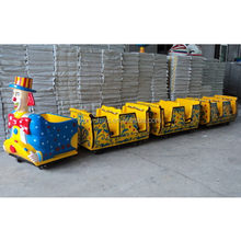Quality new products amusement track electric train