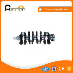 Hot sale! 13401-58020 13401-58018 11B 13B crankshaft for toyota 13B engine