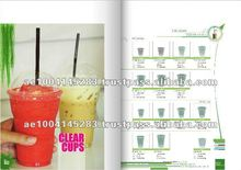 Food and Beverage Packaging Clear Plastic Products