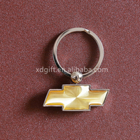 hot selling promotional metal car logo keychain