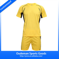2015 Hot sale custom made mens soccer clothing, soccer uniform