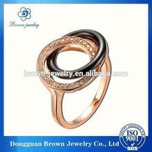 Wholesale Custom Design hot pearl ring design 2012