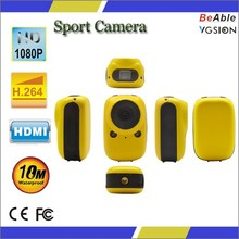 cool design good price sport action camera mini waterproof 2.0mp sport camera