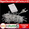 CE ROHS approved 30m 300leds low voltage 110/220v voltage outdoor 9color 2014 new christmas light