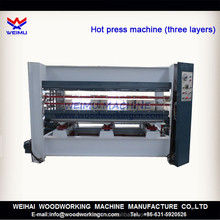 120 ton hydraulic hot press machine for pressing doors 3 layers