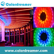 Colordreamer newest design IP65 waterproof DMX RGB color change flexible LED strip light 5050
